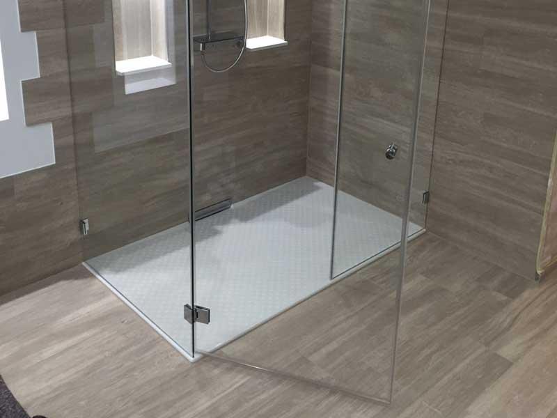 Duschkabine aus Glas