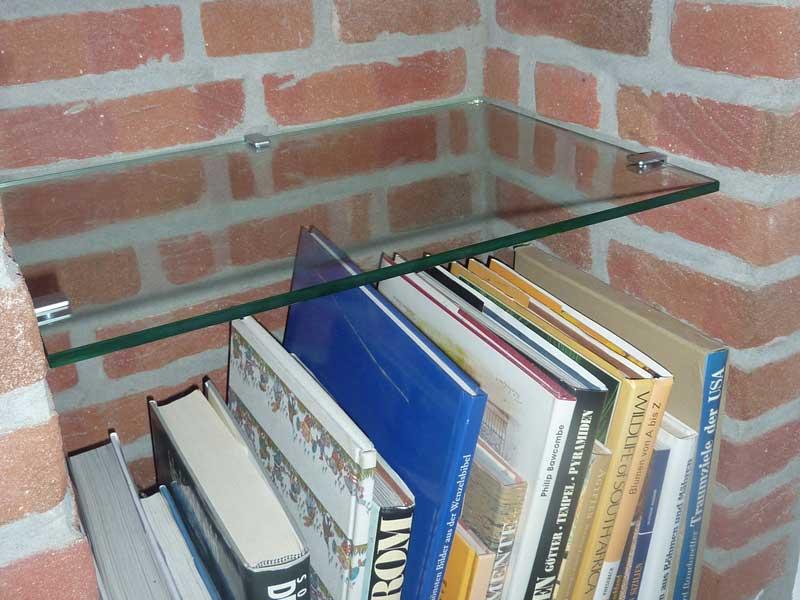 Regalboden aus Glas